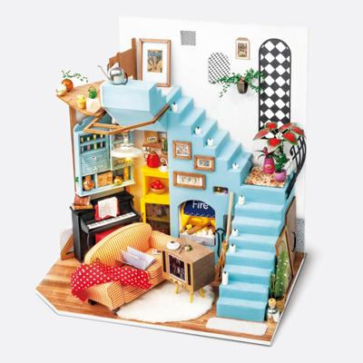 ROBOTIME Joys Peninsula Living Room