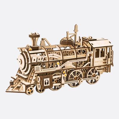 ROBOTIME Locomotive tren mecanico DIY